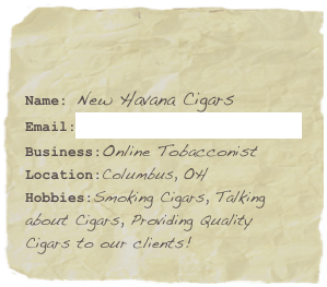 Name: New Havana Cigars 