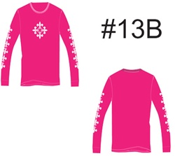 Tatuaje Womens Long Sleeve Thermal #13A Lil Arms